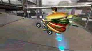 Burger King Pocket Bike Racer Game Xbox 360