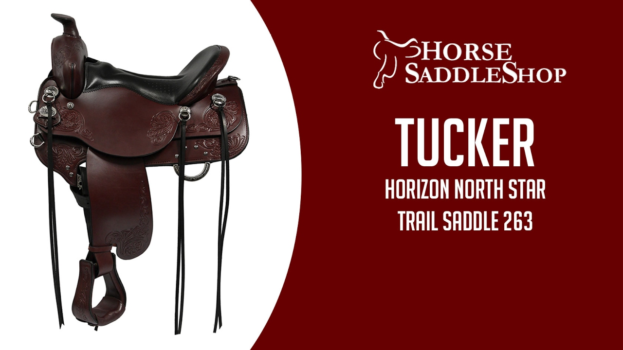 Tucker Horizon North Star Trail Saddle 263