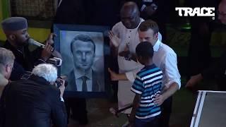 INCREDIBLE 11 year old kid drawing of Emmanuel Macron