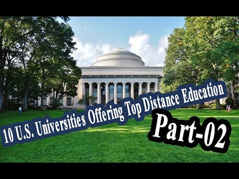 10 U S  Universities Offering Top Distance Education Part 02