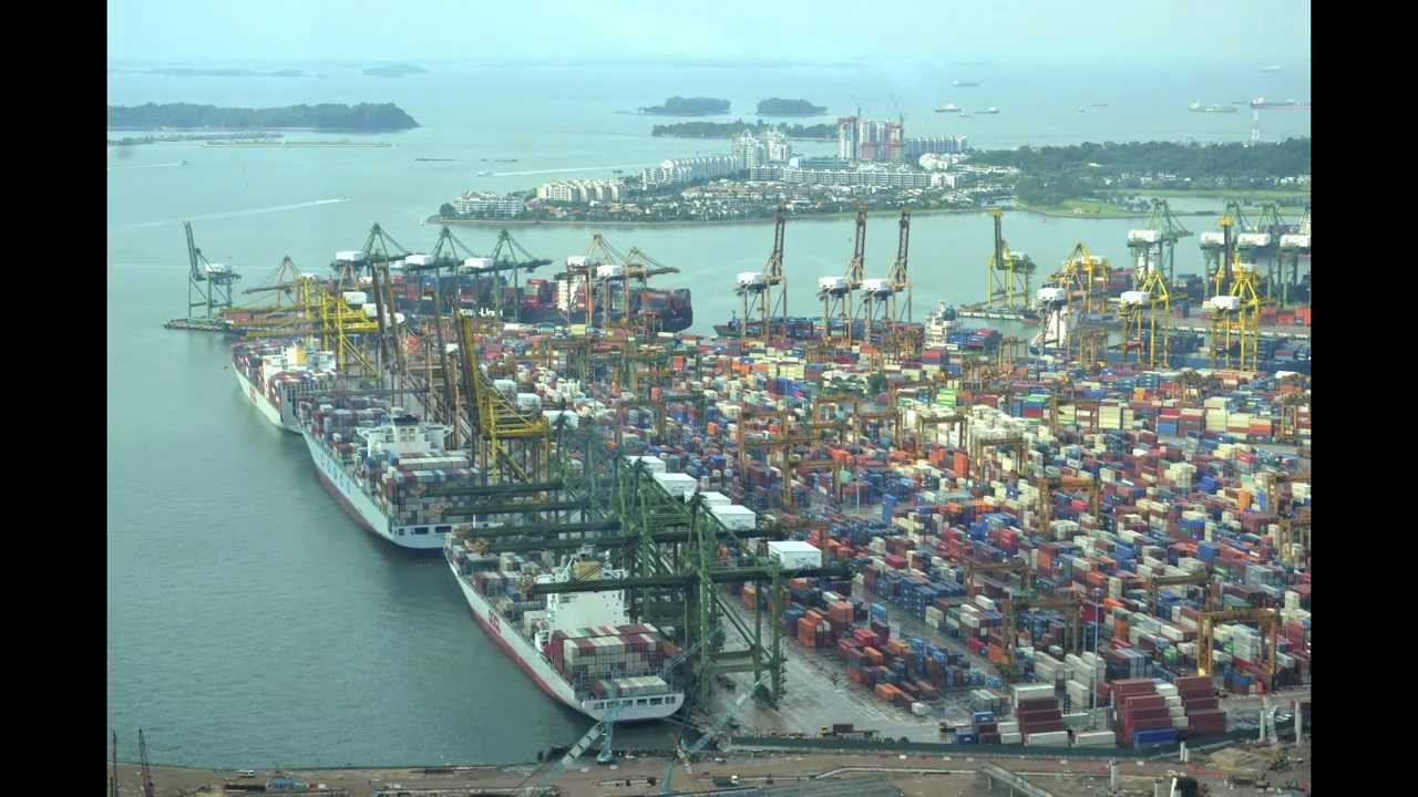 port of singapore 5 6 12 time lapse youtube. Black Bedroom Furniture Sets. Home Design Ideas