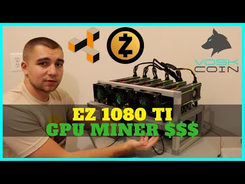 How To Easily Build A 6x 1080 TI Mining Rig 4400 Sols ZEC ZenCash
