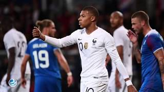 Mbappé rescata a Francia del ridículo ante Islandia