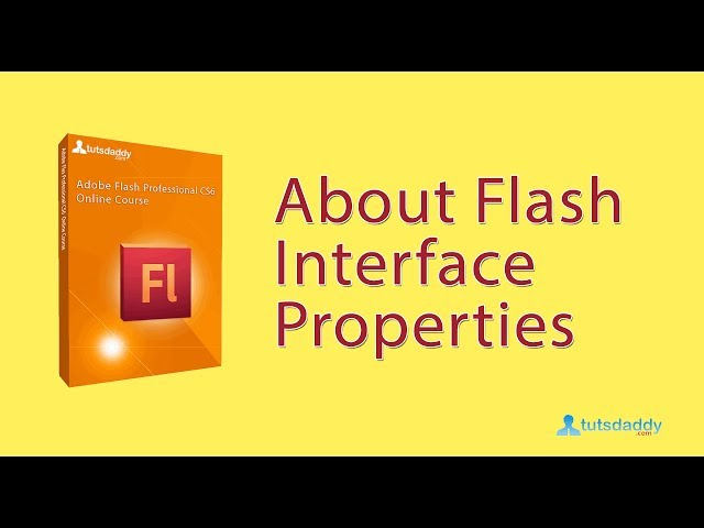 Adobe Flash Professional CS6 Course