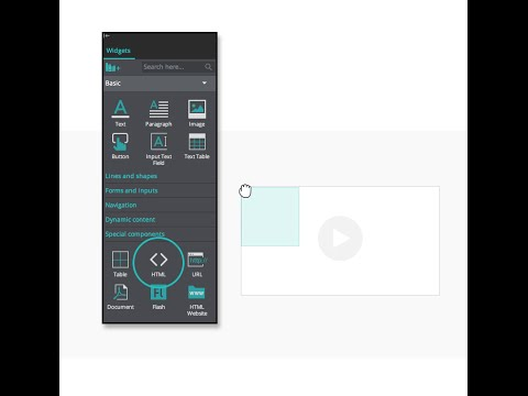 How To Embed Videos And Html Content In Your Website And App Wireframes