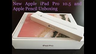 Gambar cover NEW Apple iPad Pro 10.5 (2017) and Apple Pencil Unboxing