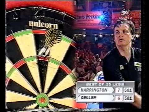 Keith Deller vs Rod Harrington - 1998 World Matchplay - Semi Finals - Part 6/10