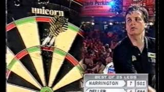Keith Deller vs Rod Harrington - 1998 World Matchplay - Semi Finals - Part 6/10