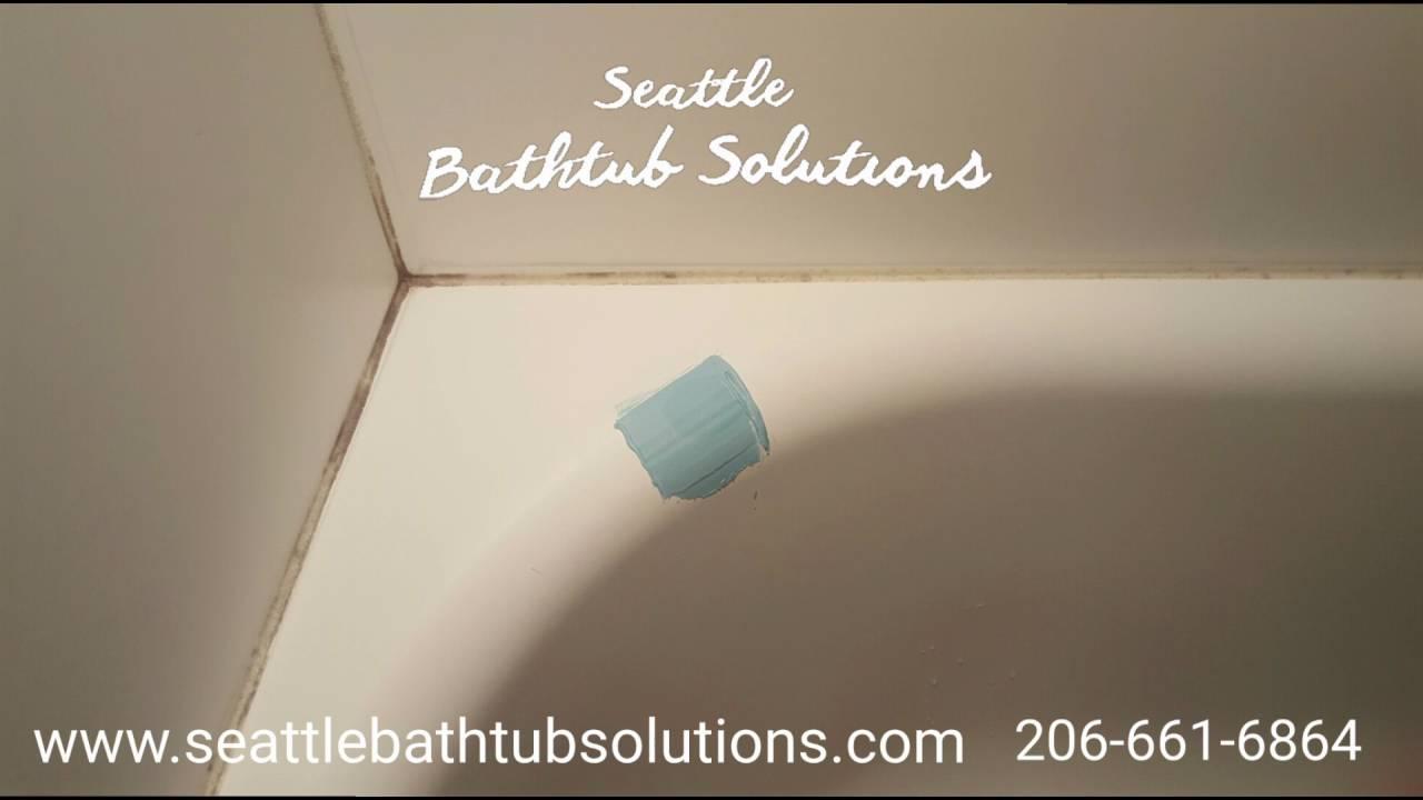 Beautiful Chip Repair On Bathtub   Seattle Bathtub Solutions Bathtub Refinishing  Seattle