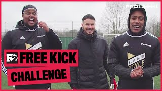 CHUNKZ & YUNG FILLY VS F2's BILLY | FREE KICK CHALLENGE