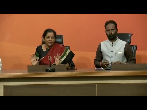Press Conference by Smt Nirmala Sitharaman on Nirav Modi fraud case - 17.02.2018