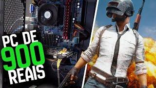 PC GAMER DE R$ 900,00 Versus PUBG - Olha no que DEU!