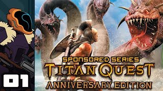 Zapętlaj Let's Play Titan Quest: Anniversary Edition - PC Gameplay Part 1 - Sit Back & Relax | Wanderbots