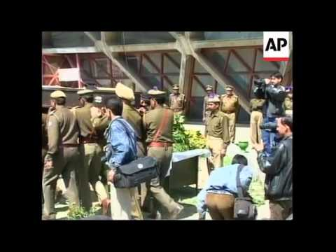 Islamic militants attacked a paramilitary camp in Kashmir's capital, killing five
