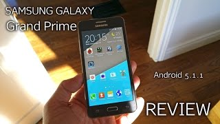 Samsung Galaxy Grand Prime REVIEW - Android 5.1.1