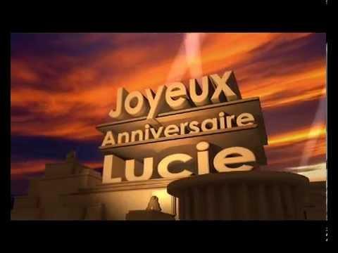 montage anniversaire cinema