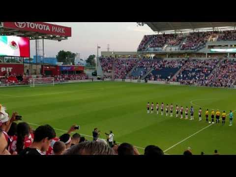 Chivas vs atlas en el Toyota park