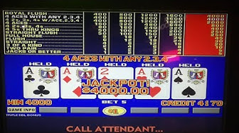 Ep. 6  Journey to Handpay !! Triple Double Bonus Video Poker