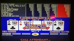 Ep. 6  Journey to Handpay !! Triple Double Bonus Video Poker