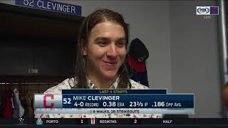 Mike Clevinger already knew Cleveland Indians would score runs after giving up run early