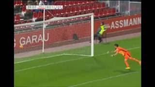 Golazo de Juan Muñoz del Real Zaragoza frente al Real Mallorca