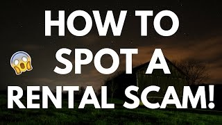 How to Spot a Rental Scam