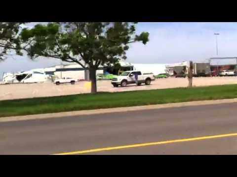 Tornado damage to Spirit Aerosystems
