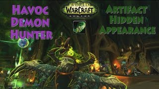 Deathwalker - Havoc Demon Hunter - Artifact Hidden Appearance