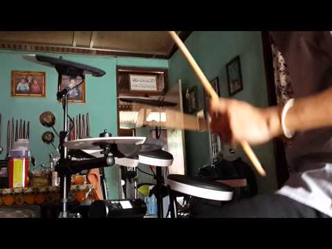 Mentera Beradu - M. Nasir feat Malique Drum Cover
