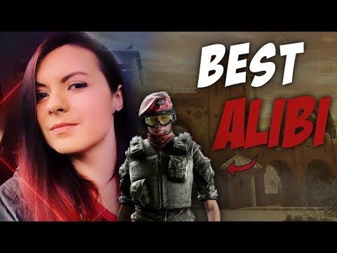BEST ALIBI IN SIEGE? - Rainbow Six Ranked Gameplay - R6S High Kills!
