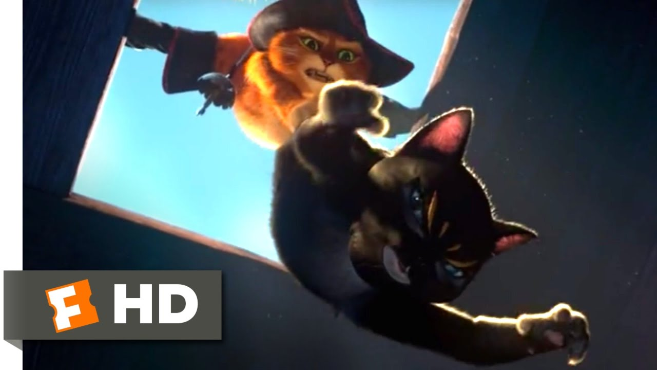 Puss In Boots 2011 Magic Beans Heist Scene 3 10 Movieclips Youtube