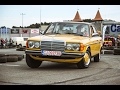 My Mercedes Benz W123  200D at Klausenburg Retro Racing