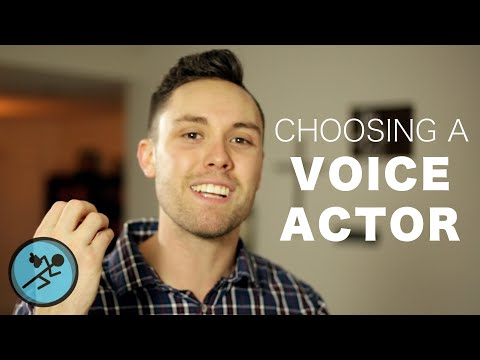 How to Choose a Voice Actor