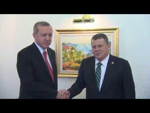 Cumhurbaşkanı Erdoğan, Yargıtay Başkanı Cirit'i Ziyaret Etti |26.03.15