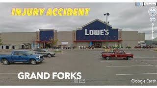 Apparent Injury Accident At Lowe's In Grand Forks