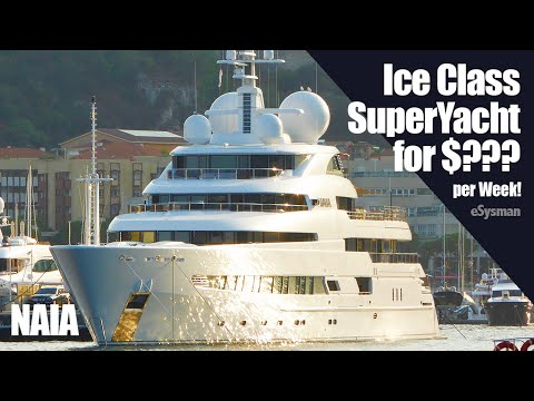 SuperYacht Naia - See How Much It Costs To Hire For A Week??