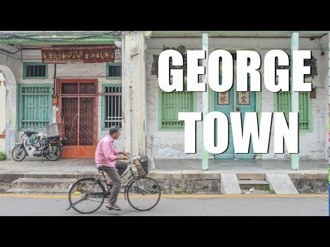 TRAVELLING TO GEORGE TOWN - PENANG ISLAND