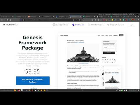How to Build a WordPress Website with the Genesis Framework in 2020?
