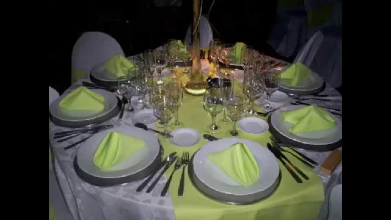 Alquiler de mesas y sillas para fiestas de egresados youtube for Sillas para eventos