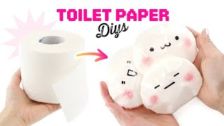 Toilet Paper DIYs to do when you're BORED!! #stayhome