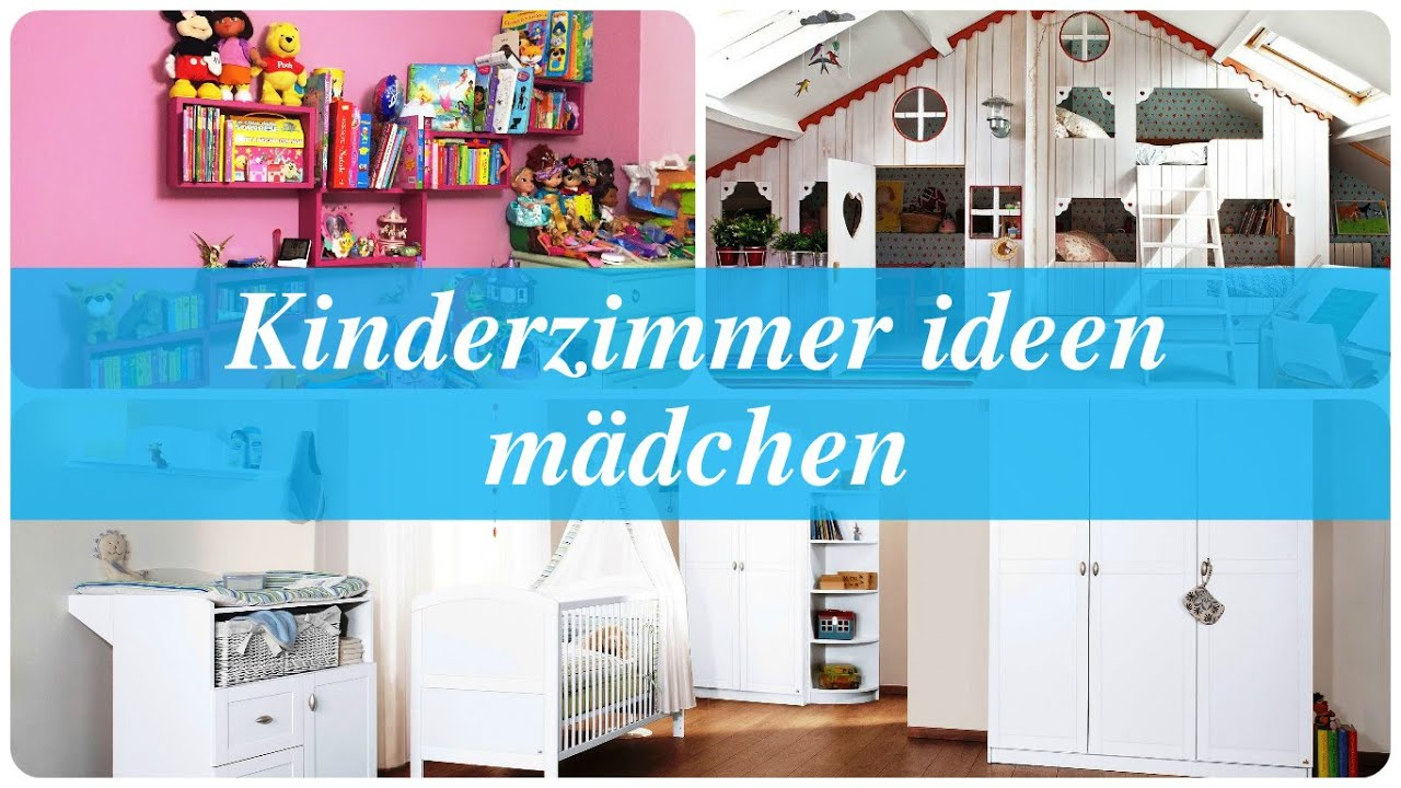 kinderzimmer ideen m dchen youtube. Black Bedroom Furniture Sets. Home Design Ideas
