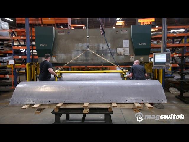 Press Brake Ergonomic Lifter - Magswitch Technology