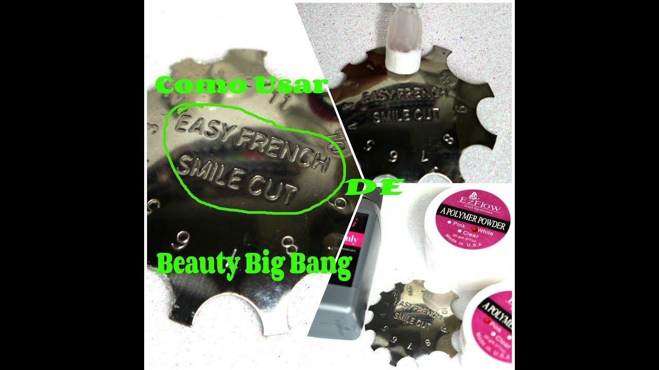 Como Usar Cortador de Metal Para Uñas Francesas de Beauty Big Bang ...