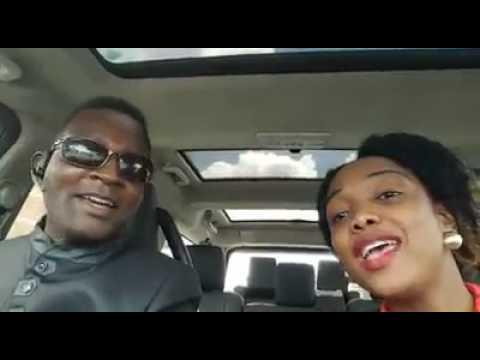 Sulumani Chimbetu and wife
