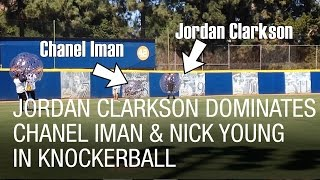 Jordan Clarkson Dominates Chanel Iman & Nick Young in Knockerball