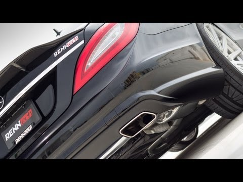 RENNtech CLS 550 Biturbo (C218) on the Dyno - YouTube
