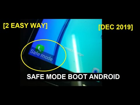 How To Boot Phone In Safe Mode Android Smartphone And Disable Safe Mode; 2 Easy Way [Dec 2019]