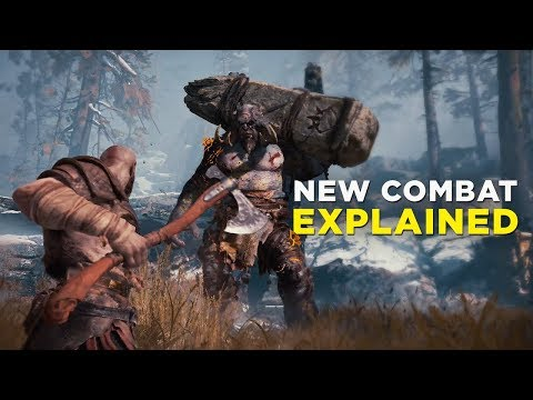 GOD OF WAR — New Axe Combat Explained
