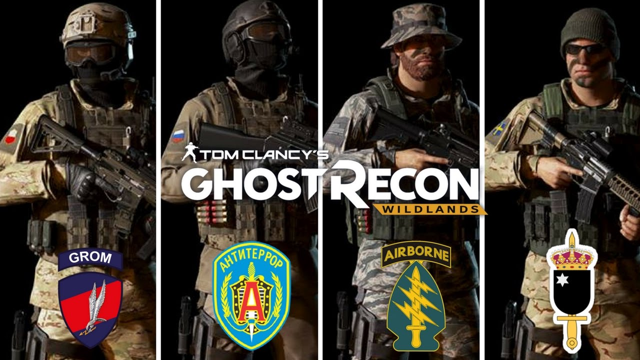 Ghost Recon Wildlands Special Forces Outfits: JW GROM ...