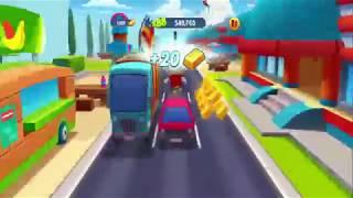 Cat runner,games for kids,Subway Surfers Barcelona HD Fullscreen,Gameplay For Kid #1